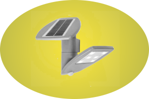 Button Solar LED